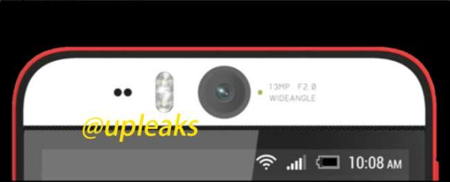 HTC Desire Eye Teaser