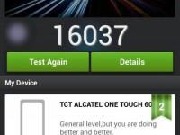 Alcatel onetouch Idol Alpha Test