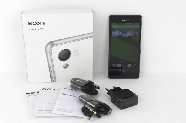 Sony Xperia Z3 Test