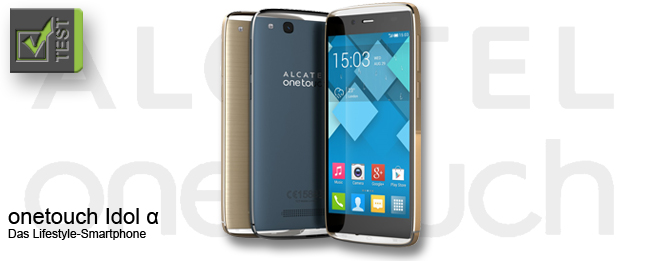 Alcatel onetouch Idol Alpha Test
