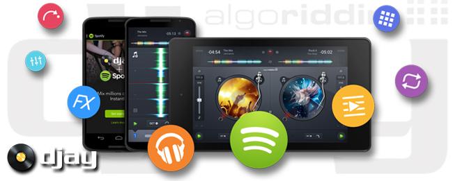 djay 2 mit Spotify-Integration