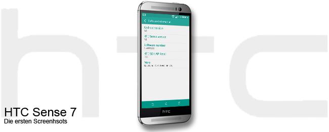 HTC Sense 7 Leak