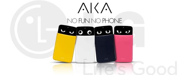 LG AKA Konzept-Smartphone