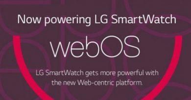 LG SmartWatch mit webOS