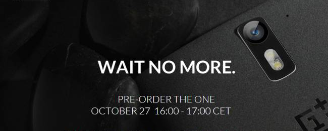 OnePlus One Preorder