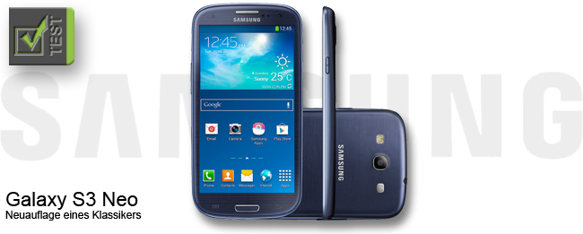 Samsung Galaxy S3 Neo Test