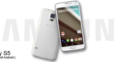 Samsung Galaxy S5 mit Android L