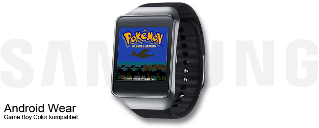 Game Boy Color Spiele auf Android Wear