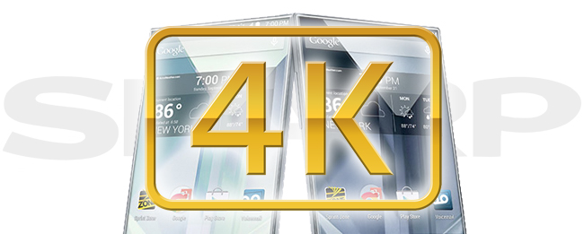 Sharp 4K Smartphone-Display