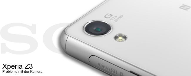 Sony Xperia Z3 Kamera