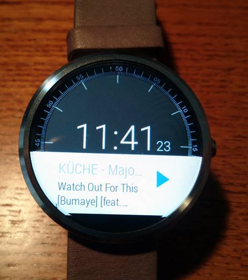 Sonos Android Wear App