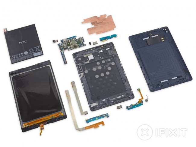 HTC Nexus 9 Teardown