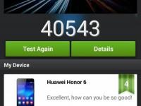 HUAWEI Honor 6 Test