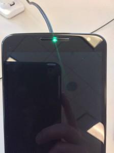Motorola Nexus 6 mit Status-LED