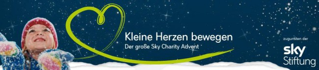 Sky Charity Advent Banner