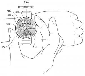 Samsung-Patent für Ring-Bedienung einer SmartWatch