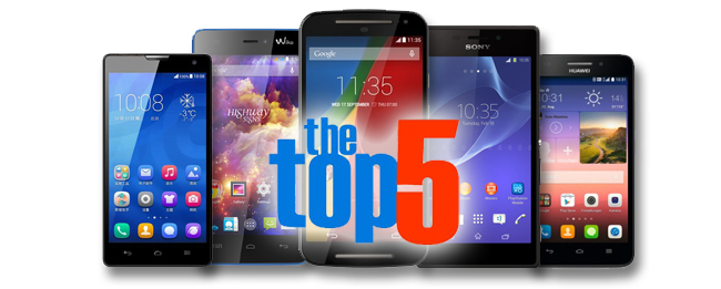 Top5 Android Smartphones bis 200 Euro