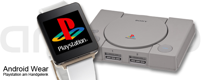 Android Wear mit Playstation-Spiele