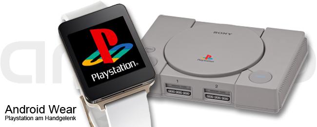 Android Wear mit Playstation-Spiele