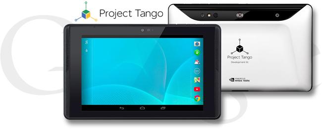 Google Projekt Tango Tablet