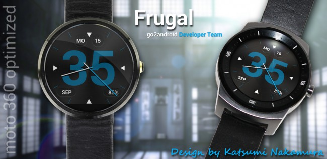 Frugal  Android Wear WatchFace