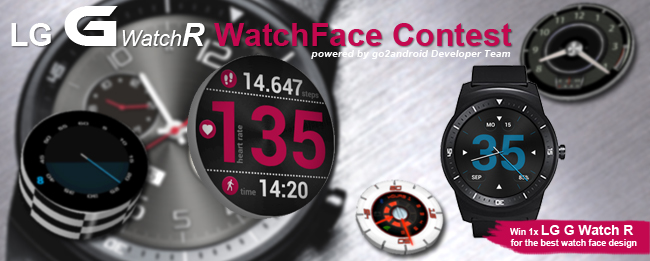 LG G Watch R WatchFace Design Contest