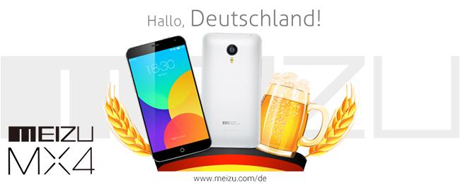 Meizu MX4 in Deutschland