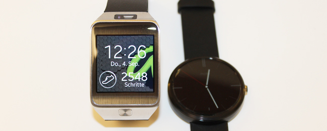 Motorola Moto 360 vs. Samsung Galaxy Gear 2