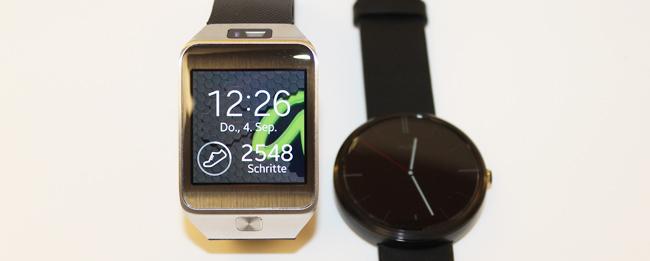 Motorola Moto 360 vs. Samsung Galaxy Gear 2