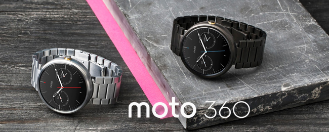 Motorola Moto 360 und Android Wear 5.0.1 Lollipop