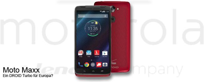 Motorola Moto Maxx Teaser