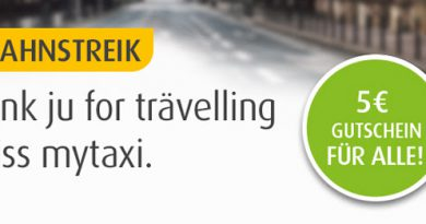 mytaxi GDL-Aktion