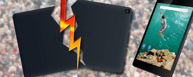 HTC Nexus 9 Shitstorm