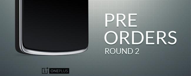 OnePlus One Vorbestellen Runde Zwei