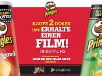 Pringles und Google verschenken HD-Filme
