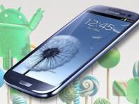 Samsung Galaxy S3 bekommt Android 5.0 Lollipop Portierung
