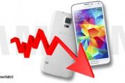 Samsung Galaxy S5: Verkäufe bleiben 40% unter den Erwartungen
