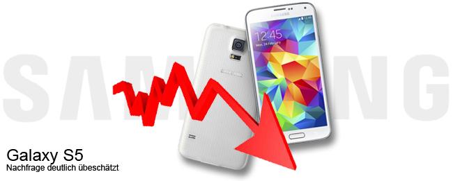 Samsung Galaxy S5 Misserfolg