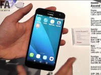 [Video] Huawei Ascend G7 - First IFA 2014 Hands on