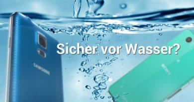 Wasserdichte Android Smartphones