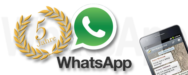 5 Jahre WhatsApp