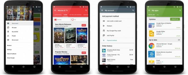 Google Play Store 5.1.11 Update