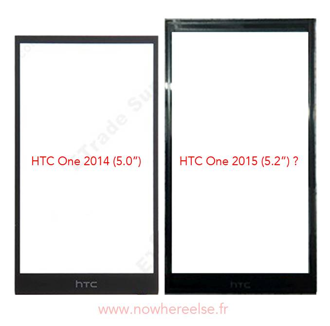 HTC One M9 Display-Panel