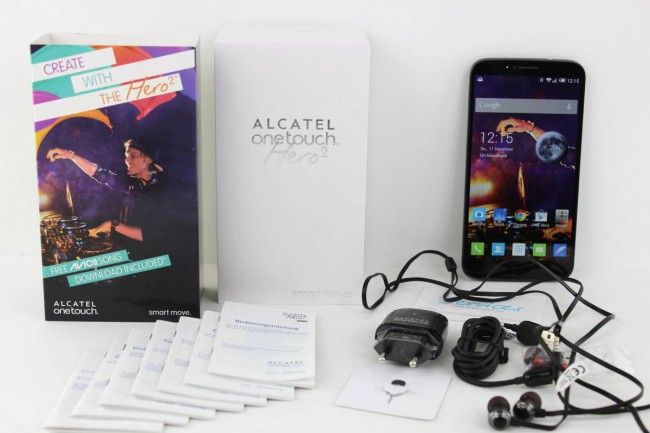 ALCATEL onetouch Hero 2 Test