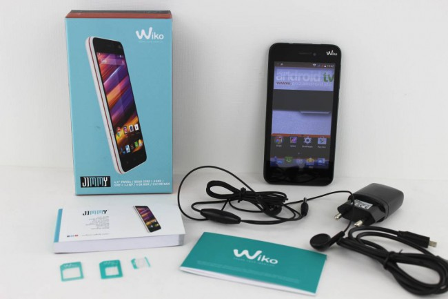 Wiko Jimmy Test