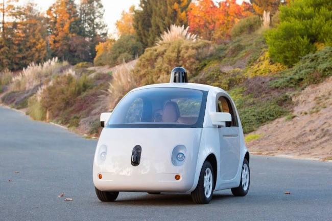 Google Car als echter Prototyp