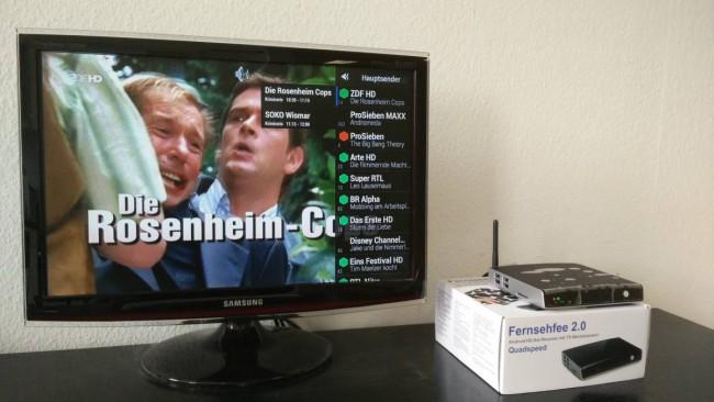 Fernsehfee 2.0 Test