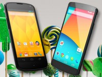 Nexus 5 und Nexus 4: OTA-Update mit Android 5.0.1 Lollipop