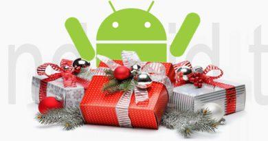 Weihnachtsgeschenke mit Android