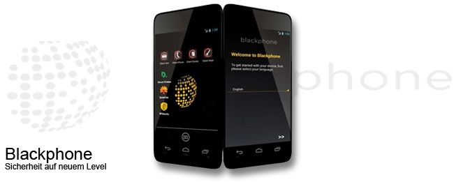 Blackphone mit PrivatOS